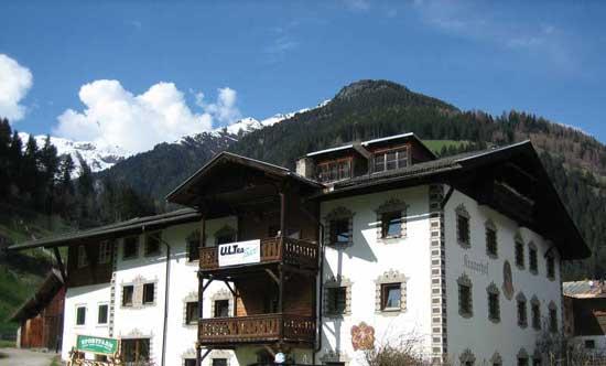 Gruppenhaus Stubaital