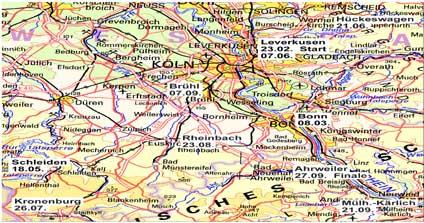 Rheinland-Cup Triathlon Schüler und Jugend 2008