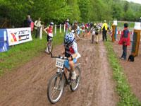 Wechselzone Fahrrad Triathlon Kinder