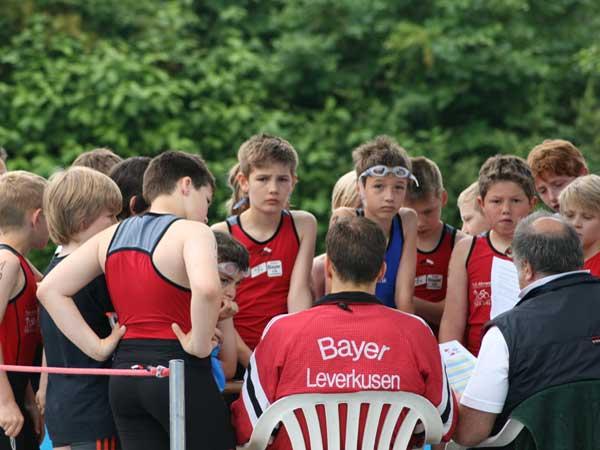 Wettkampfbesprechung Triathlon Leverkuseb