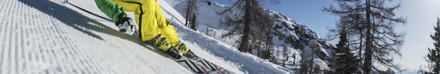 Skihütten - Gruppenhäuser auf der Piste oder nah am Skigebiet