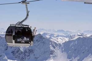 Skigebiet Sölden - 100% Schneegarantie